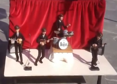 Beatles puppets